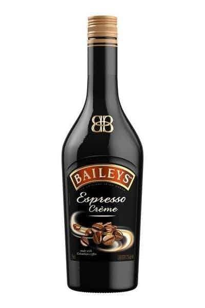 """<p><strong>Baileys</strong></p><p>drizly.com</p><p><strong>$33.99</strong></p><p><a href=""""https://go.redirectingat.com?id=74968X1596630&url=https%3A%2F%2Fdrizly.com%2Fliquor%2Fliqueur%2Fbaileys-espresso-creme%2Fp21558&sref=https%3A%2F%2Fwww.delish.com%2Ffood-news%2Fg37633902%2Fbest-coffee-liqueurs%2F"""" rel=""""nofollow noopener"""" target=""""_blank"""" data-ylk=""""slk:Shop Now"""" class=""""link rapid-noclick-resp"""">Shop Now</a></p><p>You can't go wrong with Baileys and with a 17 percent ABV, it's guaranteed to be a good time.</p>"""