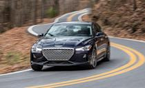 <p>Hyundai's luxury brand still offers its smallest sedan with a six-speed stick. Although the G70 shares its mechanicals with the automatic-only Kia Stinger, you can buy the Genesis with rear-wheel drive, a turbo 2.0-liter inline-four and three pedals. All-wheel-drive and V-6 models only come with an eight-speed automatic.</p>