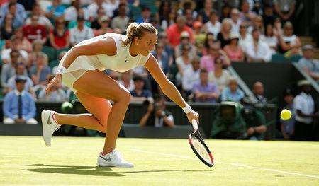 Petra Kvitova's possible route to the Wimbledon final