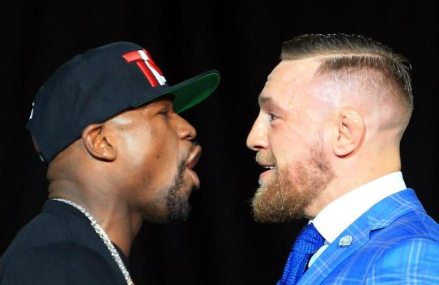 Mayweather and McGregor are on a collision course. (AP)