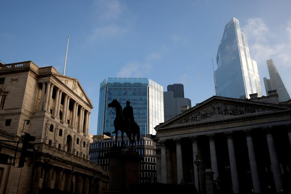 <p>The Bank of England: won't be increasing rates any time soon</p> (REUTERS)