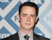 <p>If you don't recognise the similarity between father and son here, another big clue is that dad has two Oscars and three more nominations. (Photo by Jason LaVeris/FilmMagic) </p>