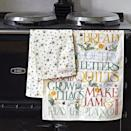 """<p>Washing up might not be such a fun task, but there's nothing like these stylish tea towels to brighten up housework. We particularly love the one with bees... </p><p><a class=""""link rapid-noclick-resp"""" href=""""https://go.redirectingat.com?id=127X1599956&url=https%3A%2F%2Fwww.emmabridgewater.co.uk%2Fproducts%2Fbumblebee-small-polka-dot-tea-towel&sref=https%3A%2F%2Fwww.countryliving.com%2Fuk%2Fhomes-interiors%2Finteriors%2Fg35249240%2Femma-bridgewater-spring%2F"""" rel=""""nofollow noopener"""" target=""""_blank"""" data-ylk=""""slk:BUY NOW, £12"""">BUY NOW, £12</a></p>"""
