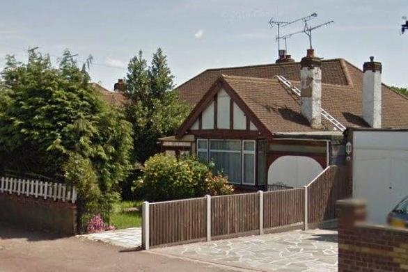 The home where John and Ann Scarle had lived for 30 years. The couple were found at the property by neighbours