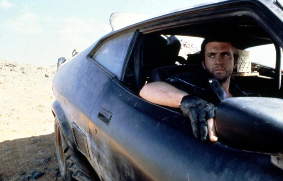 mad max in a car