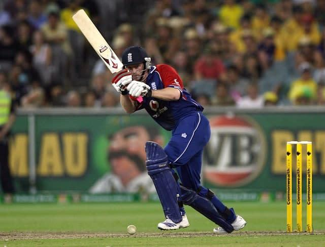 Paul Collingwood's unbeaten century guided England to victory in Melbourne (Gareth Copley/PA)