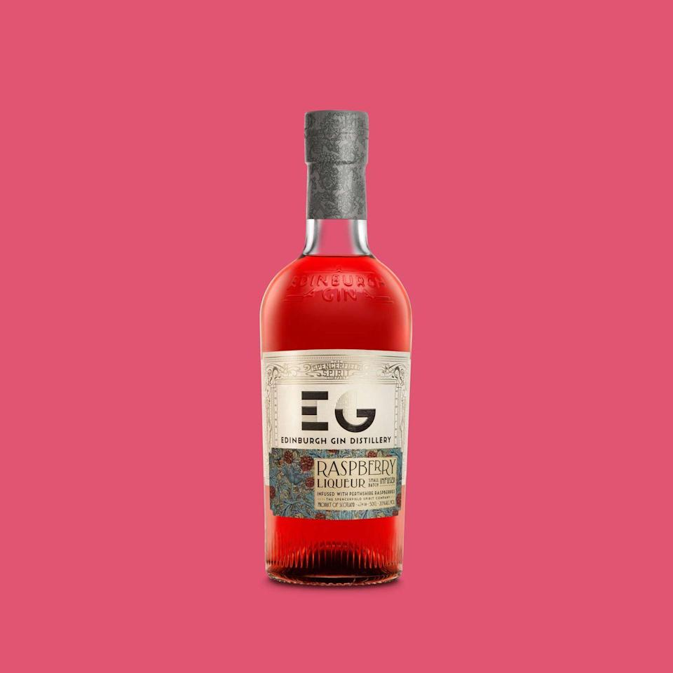 """<p>The pink/red hue of this gin is great to look at! And tastes even better. Edinburgh Gin recommend serving this simply over some ice to grasp the full raspberry flavours or in a jazzy cocktail. </p><p><strong>£14.95, Amazon</strong></p><p><a class=""""link rapid-noclick-resp"""" href=""""https://www.amazon.co.uk/Edinburgh-Raspberry-Gin-Liqueur-50/dp/B0064N2USM/ref=sr_1_3?dchild=1&keywords=Edinburgh+Raspberry+Gin&qid=1604058449&sr=8-3&tag=hearstuk-yahoo-21&ascsubtag=%5Bartid%7C2159.g.29069585%5Bsrc%7Cyahoo-uk"""" rel=""""nofollow noopener"""" target=""""_blank"""" data-ylk=""""slk:BUY NOW"""">BUY NOW</a></p>"""
