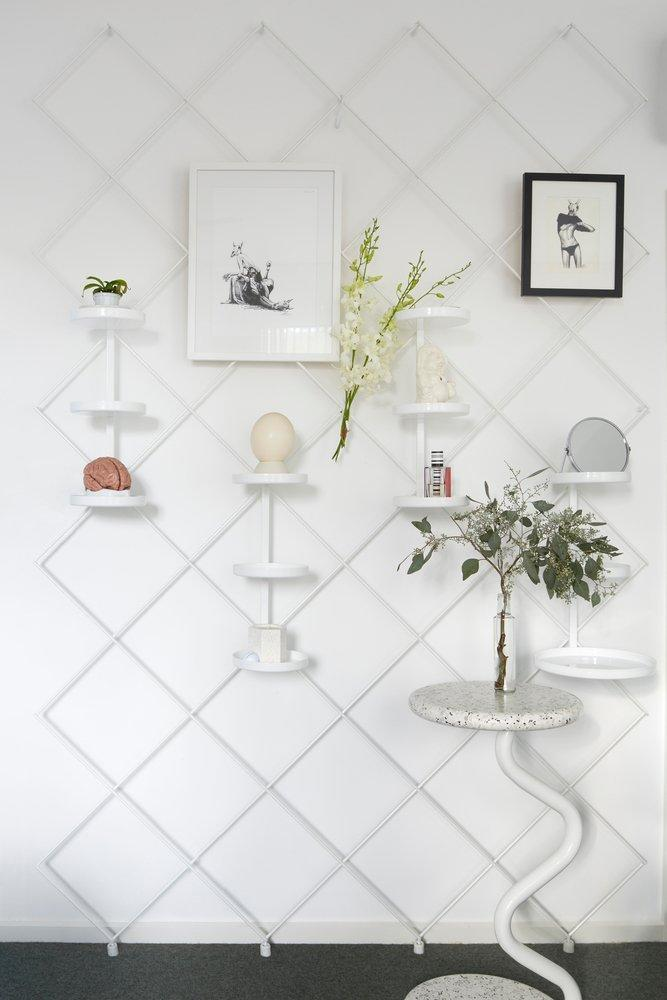 Sculptural decor elements like these remind the inhabitants of Frenches Interiors that old age doesn't necessarily have to come at the expense of style.