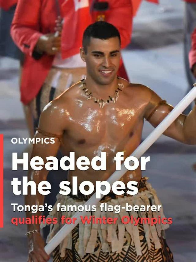 Pita Taufatofua, who qualified for the 2016 Summer Olympics in taekwondo, and whose bare, oiled-up torso stole the show at the Opening Ceremony, has now qualified for the Winter Olympics as a cross-country skier.