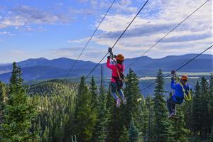 Opening May 14 (weather permitting) is one of the highest-altitude, adrenaline-inducing outdoor adventures in the southwest. Angel Fire Resort's Zipline Adventure Tour takes small groups of thrill-seekers through multiple stages at the second-highest elevation zipline tour in the United States.