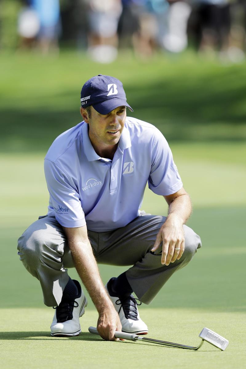 Kuchar healthy again after bizarre back injury