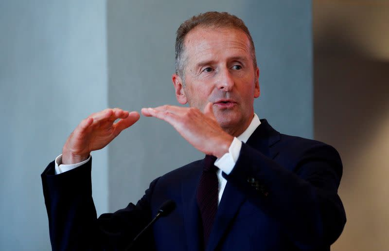 FILE PHOTO: Volkswagen's Spanish brand SEAT announces the appointment of its new president Wayne Griffiths in Barcelona