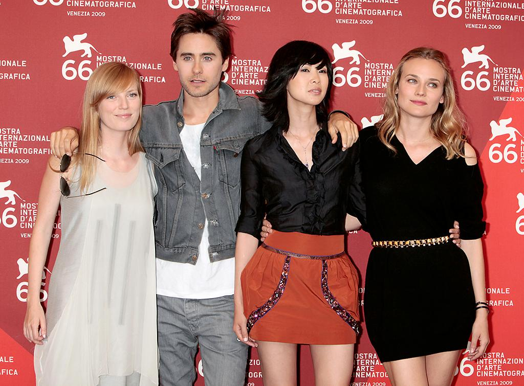 "<p>Sarah Polley, Leto, Linh Dan Pham and Diane Kruger attend the <em>""Mr. Nobody""</em> photocall during the Venice Film Festival in 2009. (Photo: Elisabetta A. Villa/WireImage) </p>"