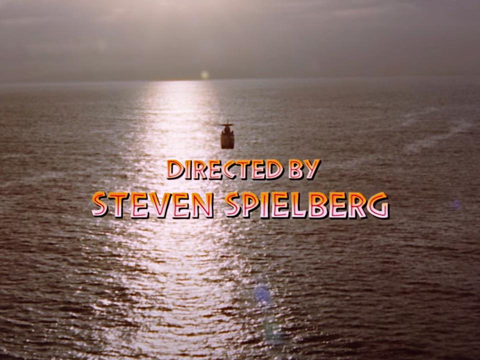 """Composer John Williams included a reference to """"Close Encounters of the Third Kind"""" in the credits."""