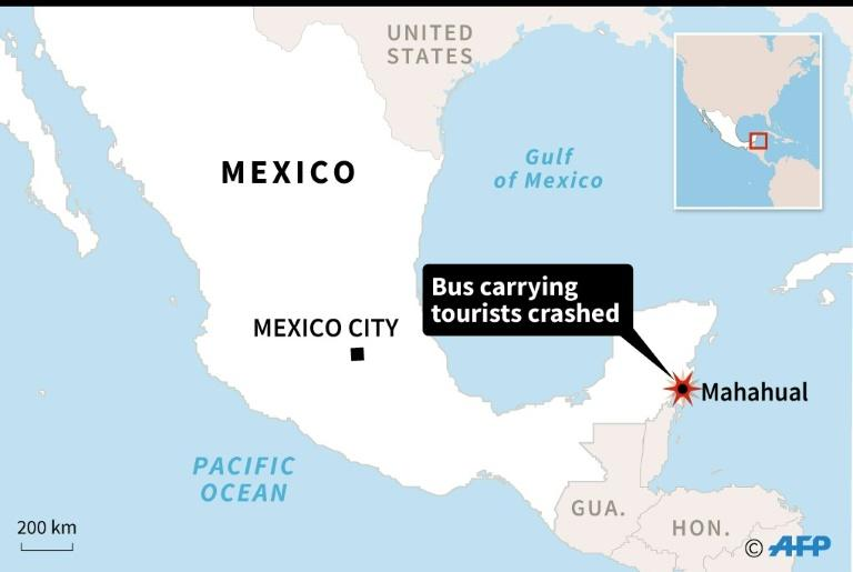 Americans Among 12 Killed In Mexico Tour Bus Crash