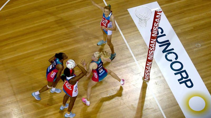 Sam Wallace's dominant display for the NSW Swifts wasn't enough to beat the Melbourne Vixens