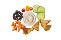 Airline offerings can set you back $9 to $12 per box. Pack your own for a fraction of the cost. Mediterranean Box: 2 oz. hummus, 1 oz. pita chips, 1 oz. grape tomatoes, 1 oz. baby carrots, 1 oz. cucumber, 1 oz. olives = $2.15 Charcuterie Box: 3 slices Colby jack cheese, 1 stick mozzarella string cheese, 1 soft mini cheese wheel, 2 oz. sliced salami, 2 oz. crackers, 1 oz. dried cranberries = $4.91 Salty & Sweet Treat Box: 4 mini chocolate chip cookies, 2 cups buttered popcorn, 1 granola-and nut bar, 1 oz. gummy bears = $3.54