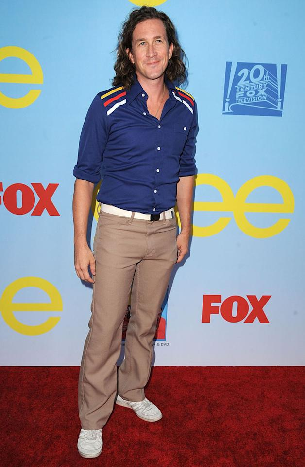 "Ian Brennan arrives at the ""Glee"" Premiere Screening And Reception at Paramount Studios on September 12, 2012 in Hollywood, California."