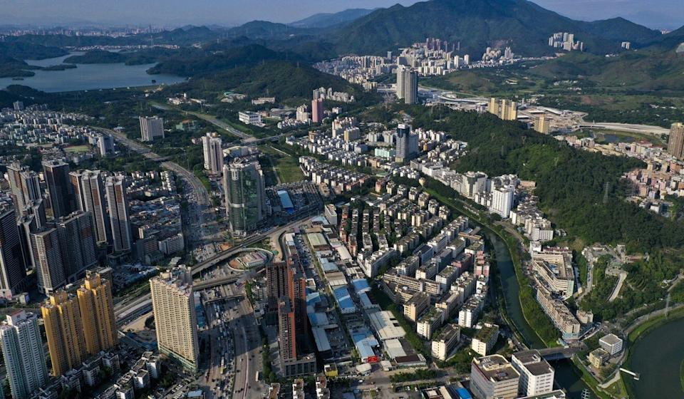 The central government hopes to link tourism to Hong Kong with excursions across the border to cities like Shenzhen (pictured). Photo: Martin Chan