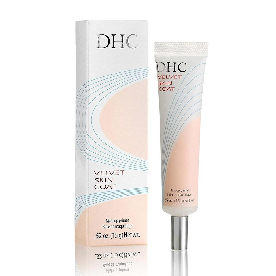 """<p>""""One of the issues I've had with primer is how unnatural it can feel on my skin. Sometimes they're too sticky, or so thick that my skin feels trapped. The <span>DHC Skin Care Velvet Skin Coat</span> ($23), however, is extremely breathable. It's very much one of those 'your skin, but better' products. While I was impressed by its pore-masking abilities alone, I also noticed that my skin stayed matte throughout the day. For someone prone to overactive oil production, this is a major win."""" - Maggie Panos, senior editor, Voices</p>"""
