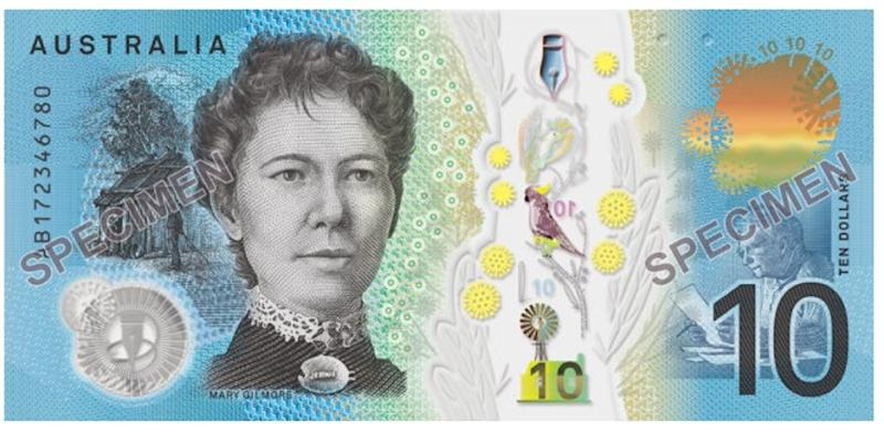 The new note is designed to be harder to create counterfeit copies. Source: Reserve Bank of Australia