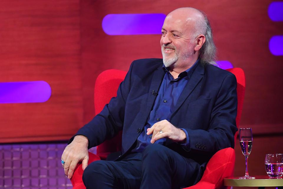 Bill Bailey during the filming for the Graham Norton Show at BBC Studioworks 6 Television Centre, Wood Lane, London, to be aired on BBC One on Friday evening. (Photo by Matt Crossick/PA Images via Getty Images)