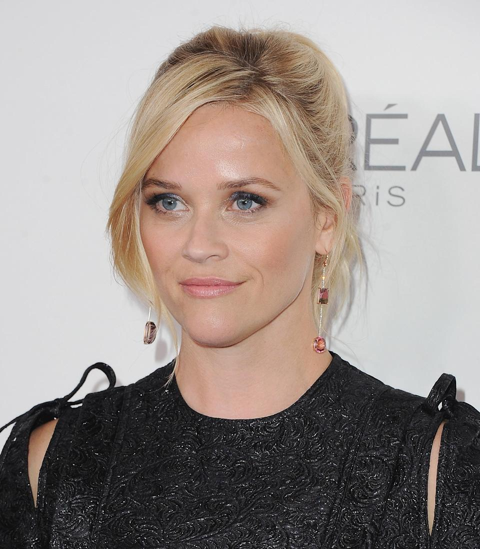 Reese Witherspoon at<em> Elle</em>'s 24th Women in Hollywood celebration on Oct. 16. (Photo: Getty Images)