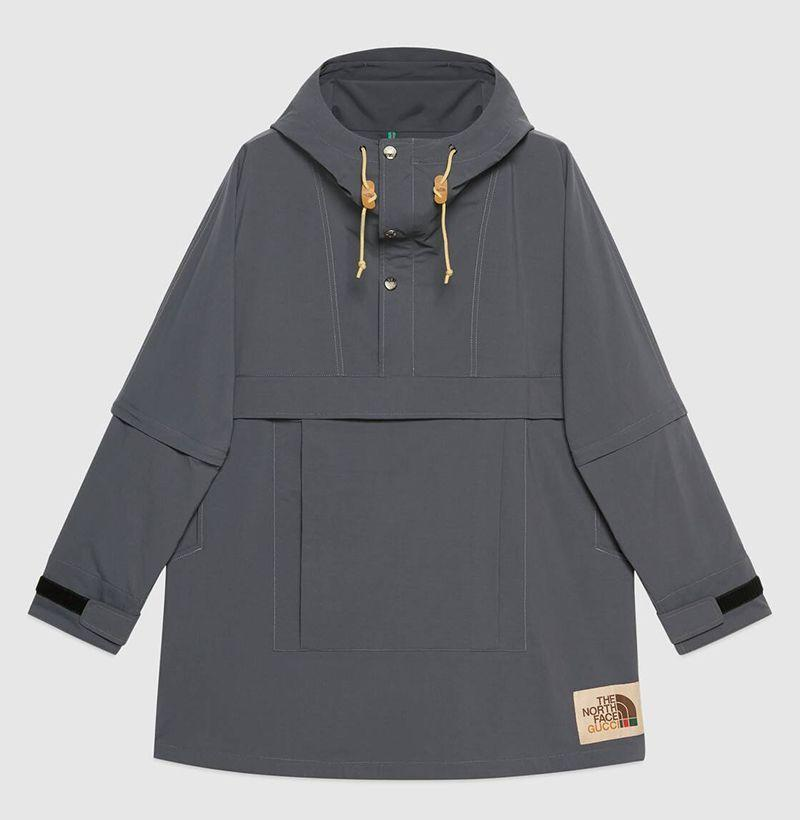"""<p><strong>Gucci</strong></p><p>gucci.com</p><p><strong>$1400.00</strong></p><p><a href=""""https://go.redirectingat.com?id=74968X1596630&url=https%3A%2F%2Fwww.gucci.com%2Fus%2Fen%2Fpr%2Fmen%2Fready-to-wear-for-men%2Fouterwear-for-men%2Fquilted-jackets-for-men%2Fthe-north-face-x-gucci-nylon-windbreaker-p-649246ZL7A11042&sref=https%3A%2F%2Fwww.esquire.com%2Fstyle%2Fmens-fashion%2Fg35293457%2Fbest-new-menswear-january-23%2F"""" rel=""""nofollow noopener"""" target=""""_blank"""" data-ylk=""""slk:Shop Now"""" class=""""link rapid-noclick-resp"""">Shop Now</a></p><p>G</p>"""