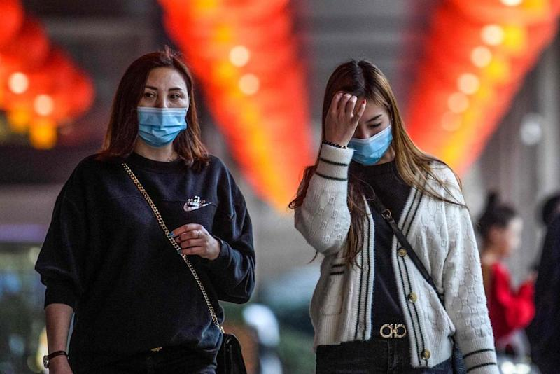 Universities in Britain with links to affected Chinese cities are taking urgent measures to stem an outbreak: AFP via Getty Images