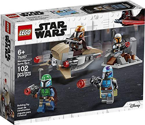 LEGO Star Wars Mandalorian Battle Pack 75267 Mandalorian Shock Troopers and Speeder Bike Building Kit; Great Gift Idea for Any Fan of Star Wars: The Mandalorian TV Series, New 2020 (102 Pieces) (Amazon / Amazon)