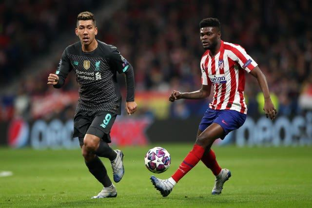 Partey was part of the Atletico Madrid team which knocked then-holders Liverpool out of the Champions League last season.