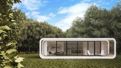Patented coodo modular living space designed by LTG Lofts to go.