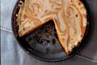 """<a href=""""https://www.epicurious.com/recipes/food/views/pumpkin-ginger-cheesecake-pie-236386?mbid=synd_yahoo_rss"""" rel=""""nofollow noopener"""" target=""""_blank"""" data-ylk=""""slk:See recipe."""" class=""""link rapid-noclick-resp"""">See recipe.</a>"""