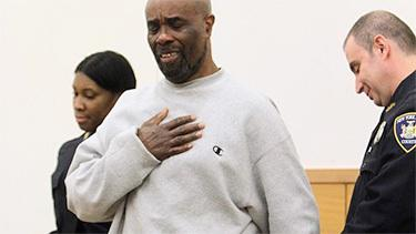 Man wrongfully convicted of murder celebrates freedom after nearly 25 years in prison. Photo: NY Daily News.