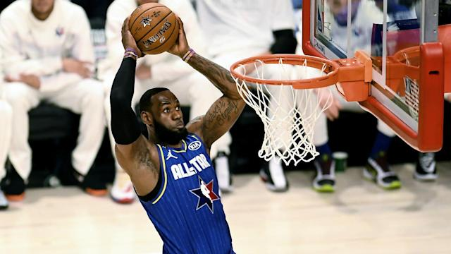 LeBron James and his team earned bragging rights in a new All-Star Game format.