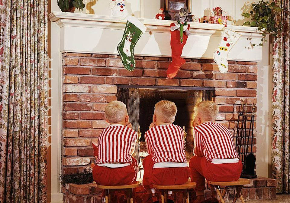 """<p>Some Children in England <span class=""""redactor-unlink"""">burn their letters</span> to Santa in the fireplace instead of mailing them. The <span class=""""redactor-unlink"""">note</span> travels out the chimney all the way to the North Pole where the big guy reads the message in the smoke.</p>"""