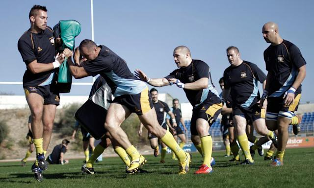 "<span class=""element-image__caption"">Cyprus players train at the Pafiako Stadium in Paphos. Team member Luke Frixou: ""We had a culture, we were almost expected to win and that confidence tends to result in winning.""</span> <span class=""element-image__credit"">Photograph: AFP/Getty Images</span>"