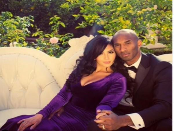 Late NBA legend Kobe Bryant with wife Vanessa Bryant (Image Source: Instagram)