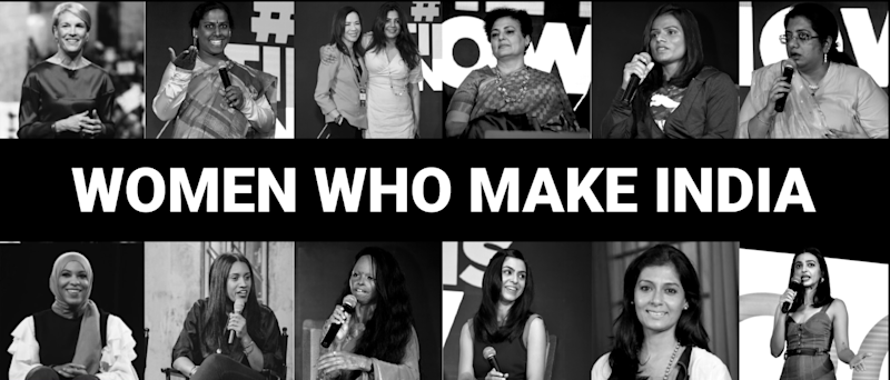 MAKERS India's first-ever annual conference is based on the theme of 'Women Who Make India.'