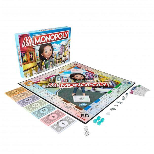 PHOTO: The board game, titled 'Ms. Monopoly,' celebrates inventors and aims to invest in these inspiring women across the globe. (Hasbro)