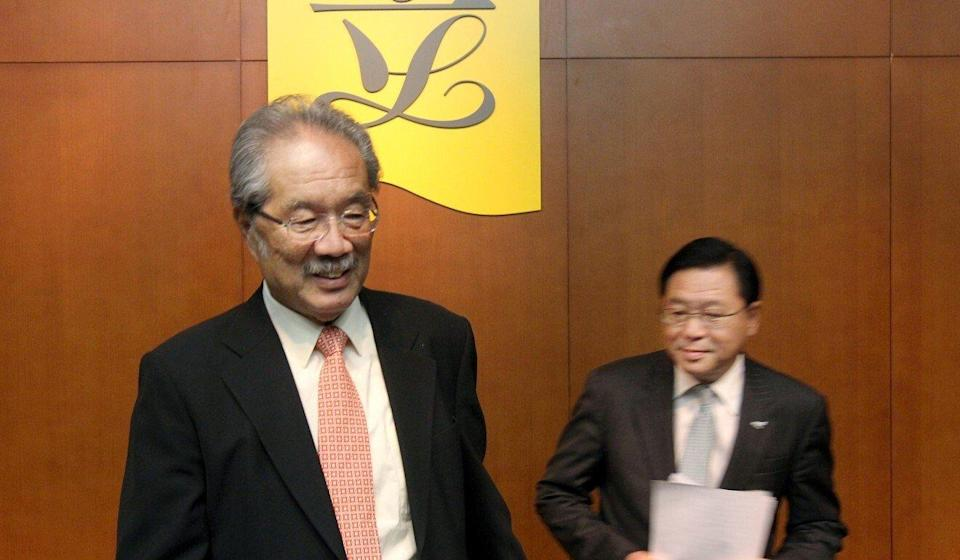 Then lawmaker Philip Wong holds a press conference in June of 2012. Photo: K. Y. Cheung