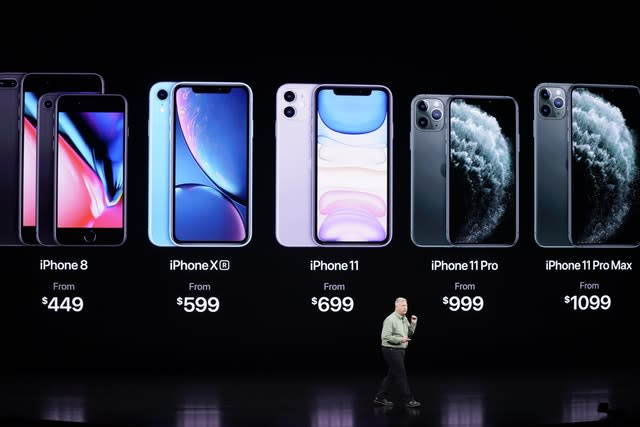 Phil Schiller talks about the new iPhone 11 Pro and Max