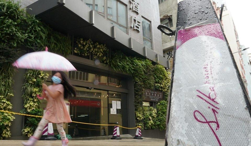 The 409 rooms at the Silka Tsuen Wan Hotel (pictured) proved incapable of handling the inbound flow of domestic workers. Photo: Felix Wong