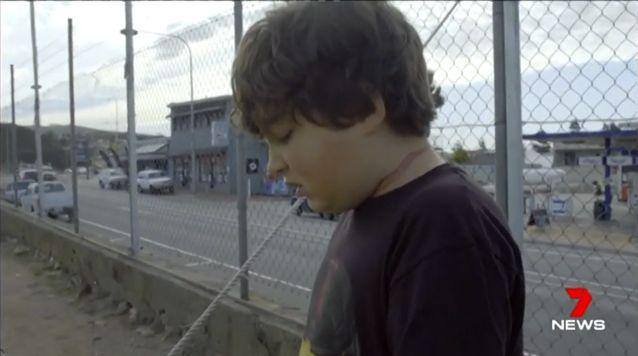His mother said some other young kids encouraged him toward the rope. Source: 7 News