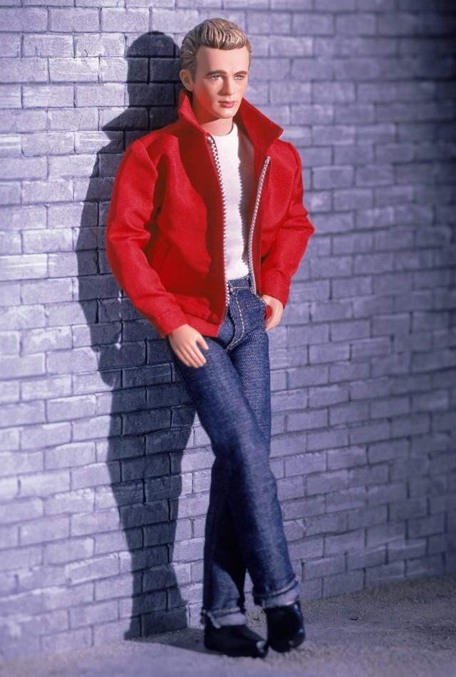 "<div class=""caption-credit""> Photo by: barbiecollector.com</div><b>James Dean doll, released in 2001 for $39.98</b> <br> Still a hunk, even at 12"" tall."