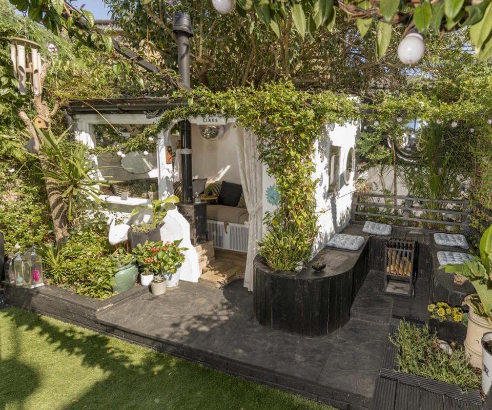 <p>CABIN & SUMMERHOUSES:<br>The Limes – owned by Michael Long in the City of London (Picture: Shed of the Year) </p>