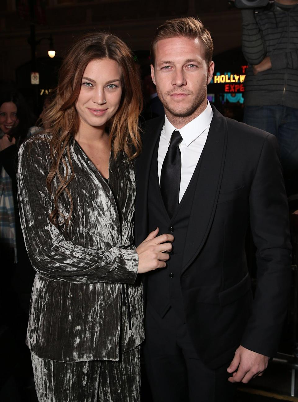 <p>In December 2015, Luke took Swedish musician Ellinor Olovsdotter (aka Elliphant) as his date to the premiere of his movie <strong>Point Break</strong>, though he's never confirmed whether they were actually an item.</p>