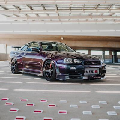 1999 R34 Skyline GT-R in Midnight Purple II given away by Tuner Cult. Photo courtesy of Tunercult.com