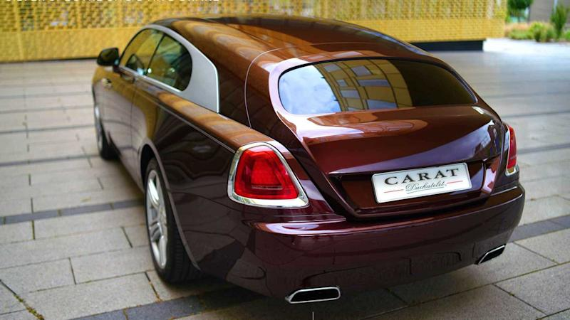 Carat Duchatelet Silver Spectre Wraith Shooting Brake