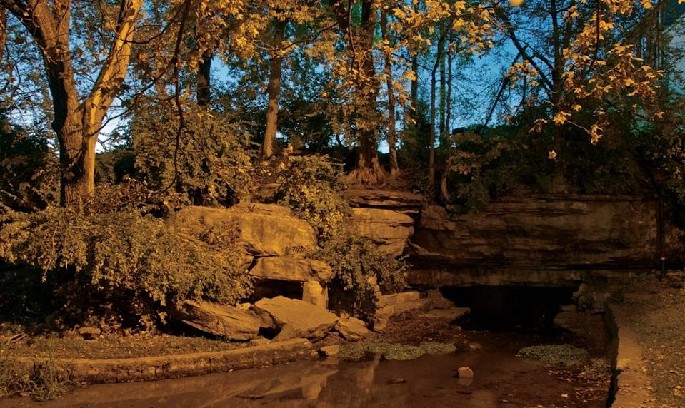 Big Spring, near Princeton, Ky., was a camp spot for many of Cherokees being forcibly removed from their lands along the Trail of Tears.